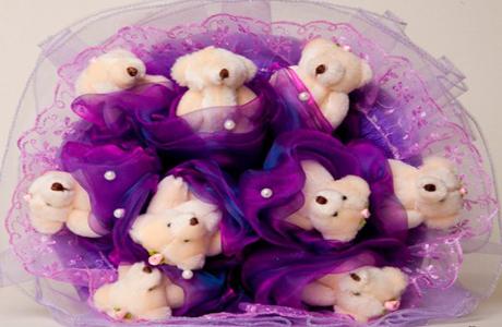 Подарок недели для беременной: букет из игрушек
