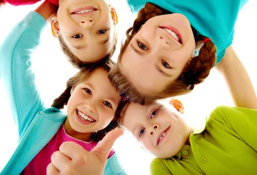 Дети открытые и дружелюбные