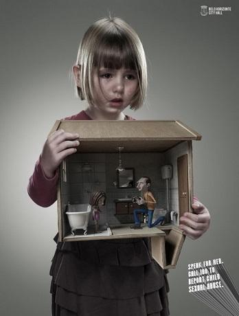 Поговори с ней. Немедленно позвони, чтобы остановить сексуальное насилие над детьми