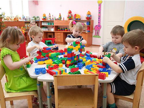 По количеству детсадов Украина стремится в ЕС