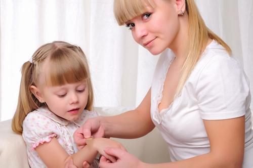 Помощь малышу при травмах