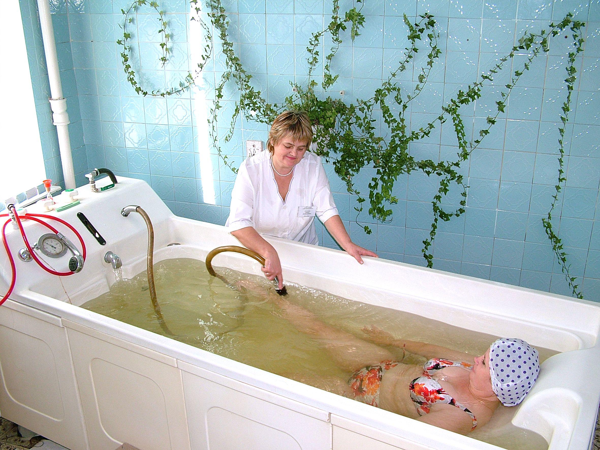 Бальнеотерапия для маминого здоровья