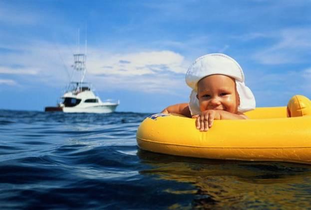 Особенности детского отдыха «на морях»
