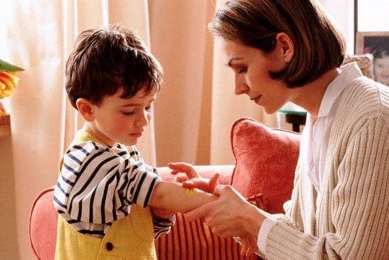 Инфицированные раны у ребенка