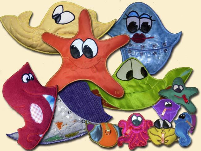 Коврик и игрушки должны быть из натуральных материалов!