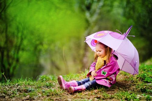 Дети и весна