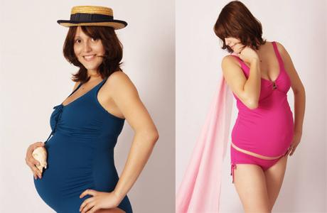 Подарок недели для беременной: стильный купальник