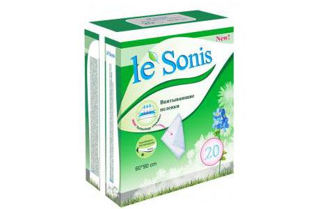 Одноразовые пеленки LE SONIS