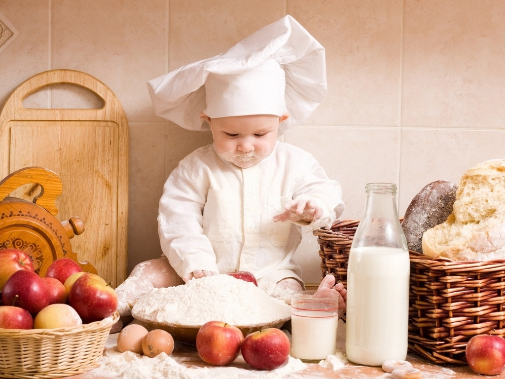 Правила безопасности для детей на кухне