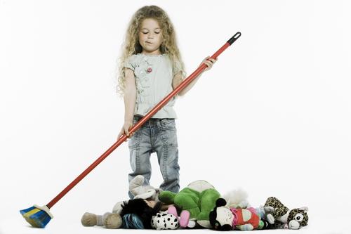 Очерти круг обязанностей для ребенка