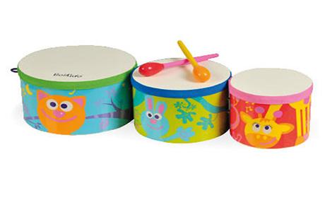 Музыкальные инструменты развивают творческие и физические способности малыша!