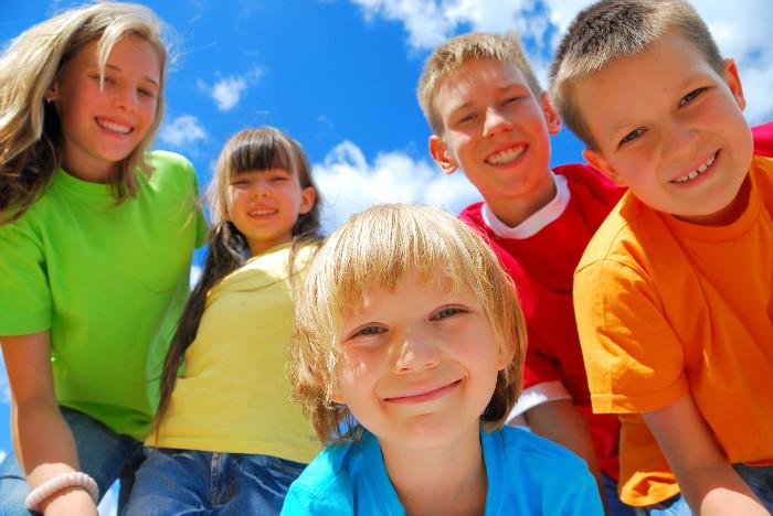 Дети в многодетной семье