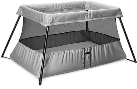 Кровать-манеж BabyBjorn Silver