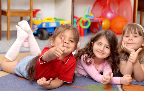 Малыши с удовольствием посещают детский сад