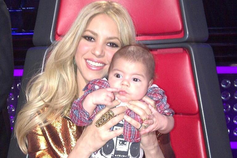 Шакира в шоке от первого опыта материнства