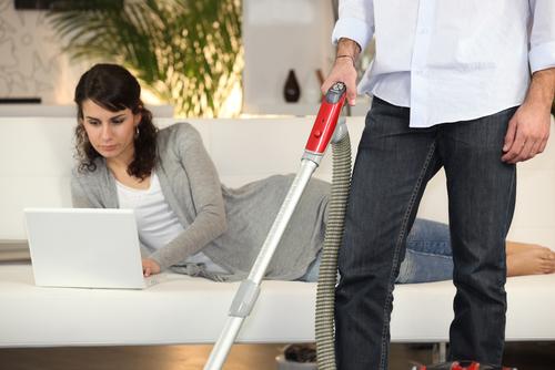 Отец и домашняя работа