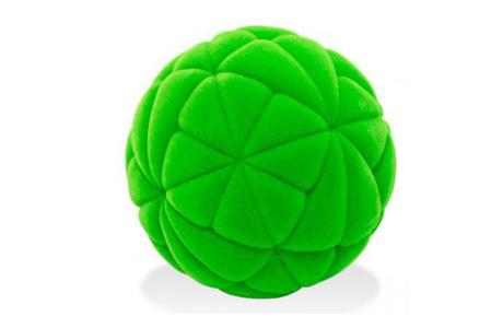Детский мяч Rubbabu «Калейдоскоп» из натурального каучука