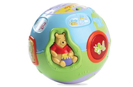 Детский развивающий мячик Vtech «Винни»