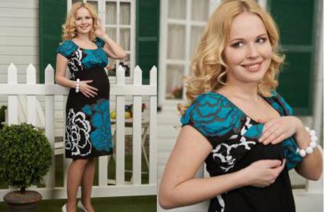 Подарок недели для беременной: нарядное платье