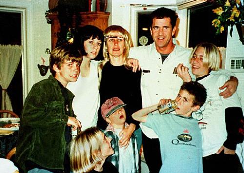 Мел Гибсон и его дети