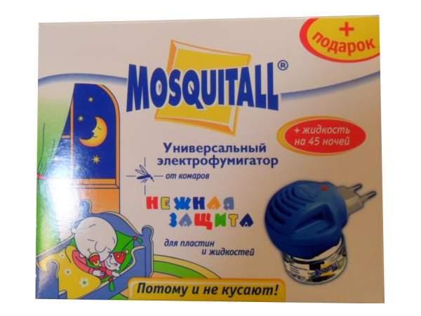 Жидкость Mosquitall «Нежная защита»