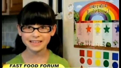 Умная американская девочка восстала против «Макдональдса»