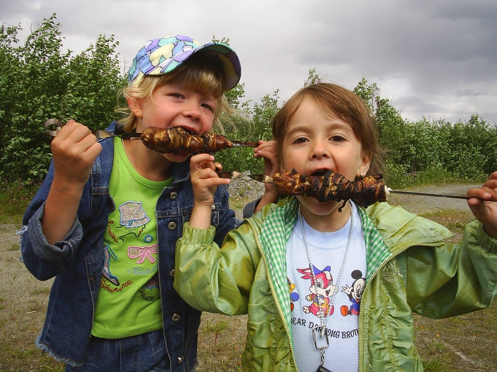 Чем занять ребенка на пикнике