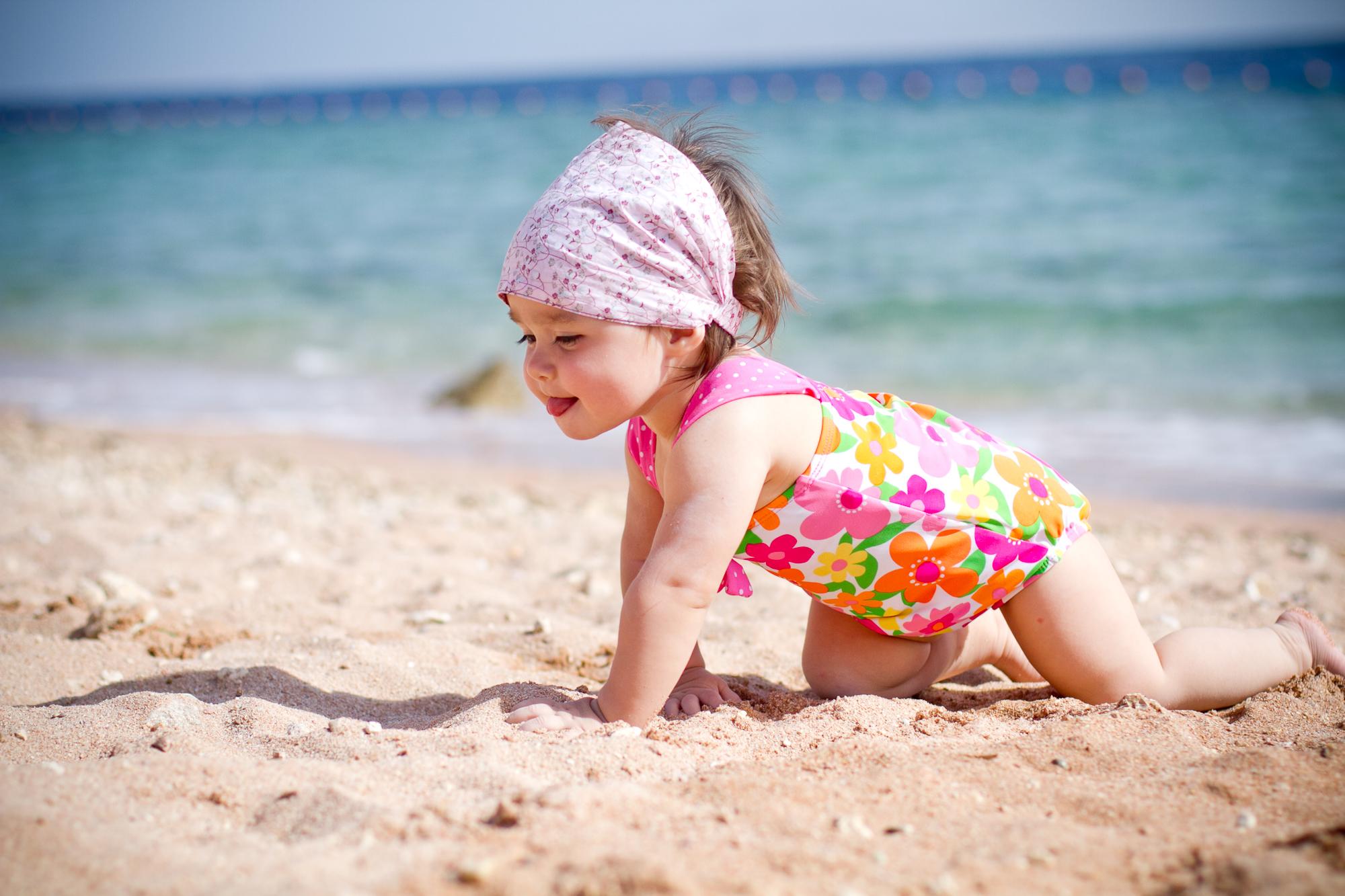 Чем увлечь ребенка на пляже?