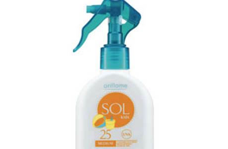 Детский цветной спрей SOL Oriflame Sol kids SPF 25