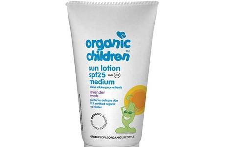 Солнцезащитный лосьон для детей Green People SPF25