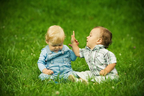 Как отучить малыша от привычки драться?