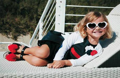 Очки надежно защитят глаза ребенка от УФ-лучей!