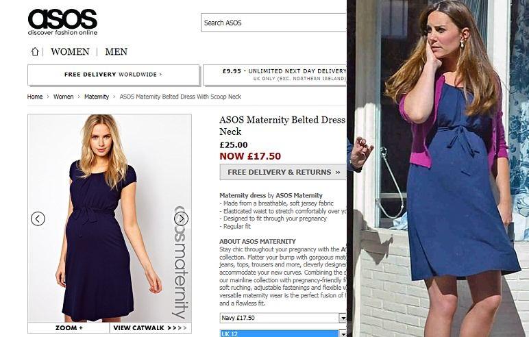 Будущая мама Кейт Миддлтон носит платья всего за 142 гривны!