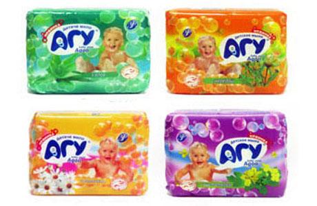 """Обзор брендов детского мыла, представленных на рынке Украины. Часть 3: мыло """"Агу"""""""