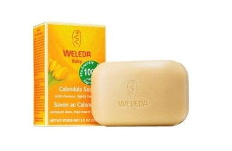 Детское растительное мыло «Weleda»