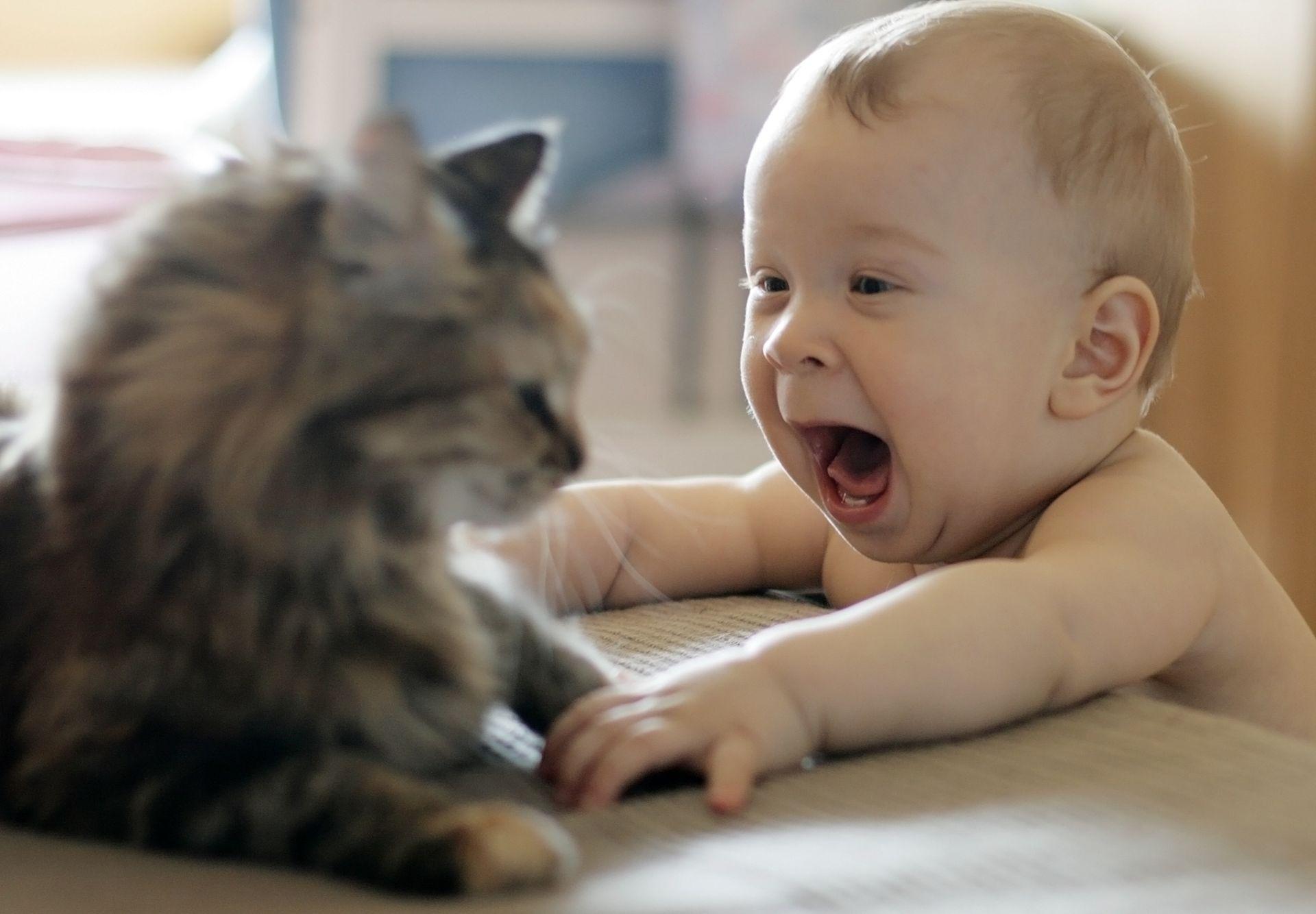 Малыш начинает говорить!
