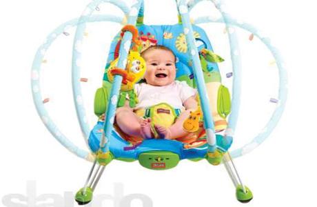 Массажное кресло-качели Tiny Love «Жители саванны»