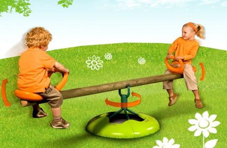 """Детские деревянные качели Smoby """"Держи равновесие"""""""