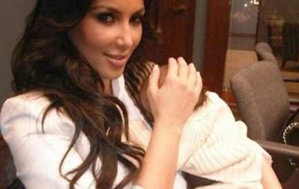Ким Кардашян планирует одевать детей всего мира!