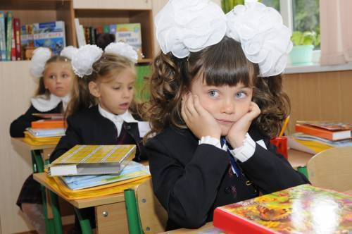 Количество учеников за 20 лет в Украине уменьшилось на треть
