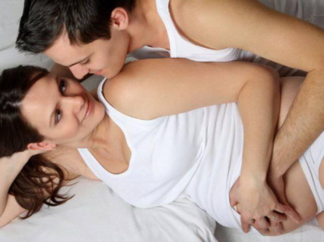 Ускорить наступление родов при помощи секса не удастся