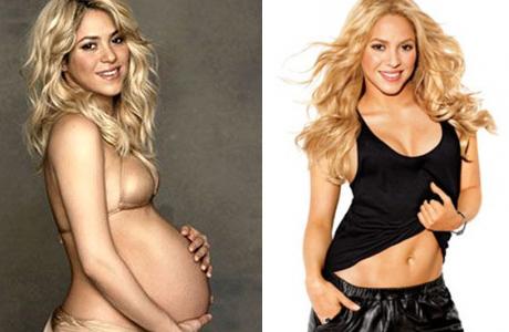 Молодая мамочка Шакира сегодня выглядит лучше, чем до беременности!