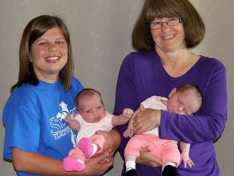 Американка решила сама себе родить внуков