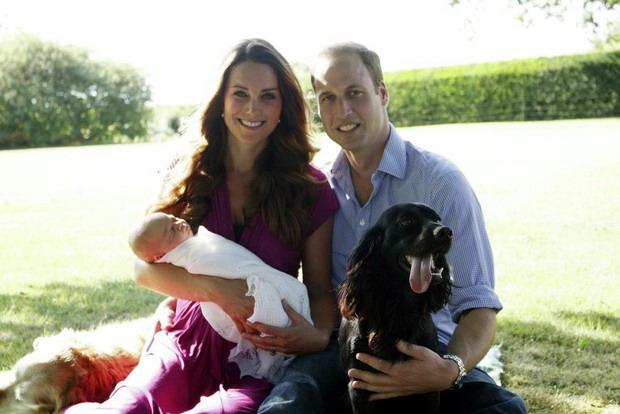 Королевская семья порадовала мир первым семейным портретом