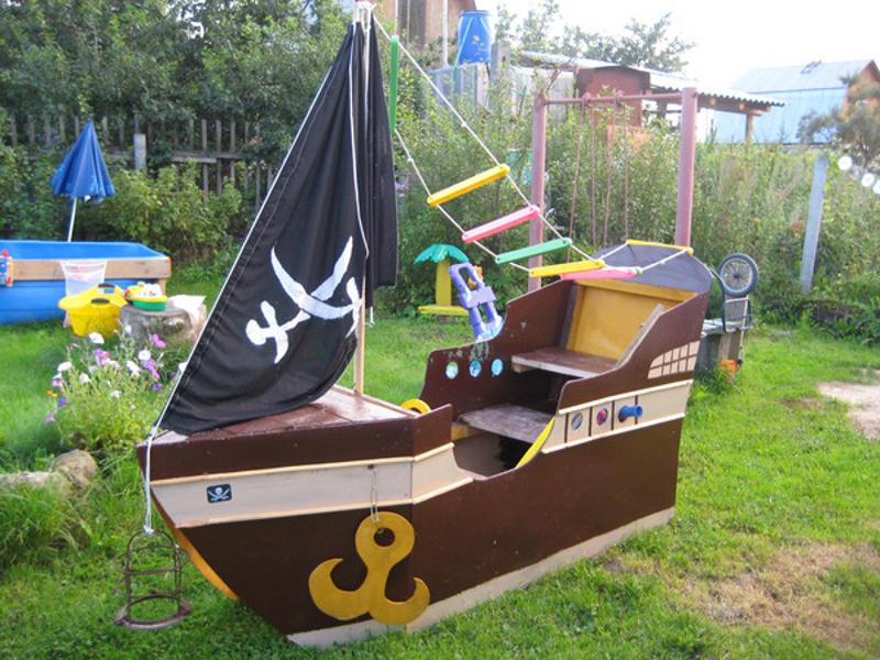 Кораблик в детскую своими руками