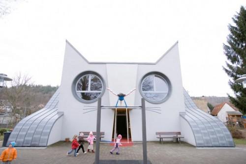 Детский садик в виде кота: в Германии это возможно!