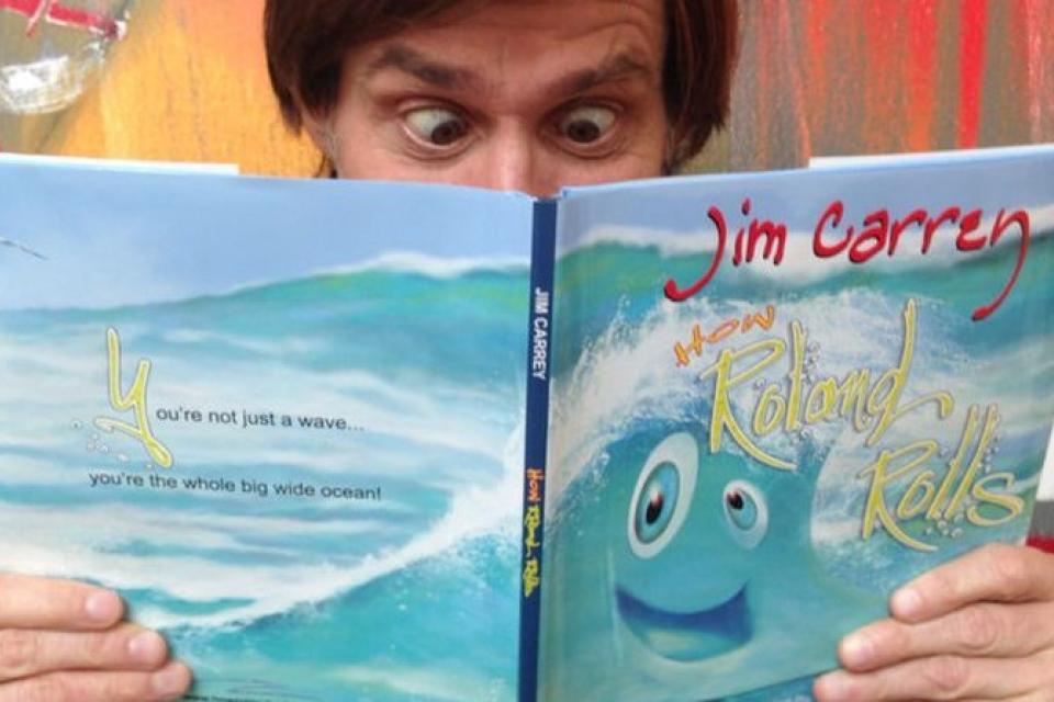 Джим Керри пишет книгу для детей