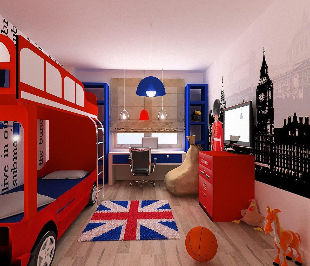 Сказочные детские комнаты 7 необычных