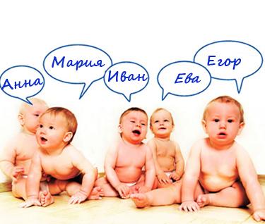 Западная мода на имена: детей называют Каинами, Алихаямами и Апполинариями
