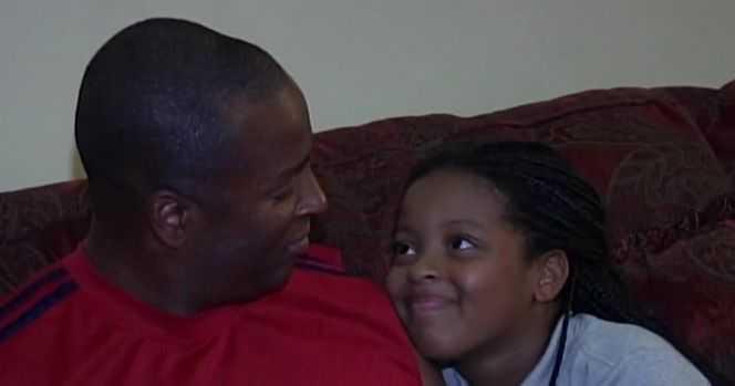 9-летняя девочка-героиня спасла своего отца